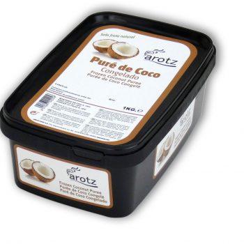 pure de coco congelado sin ralladura para sifón