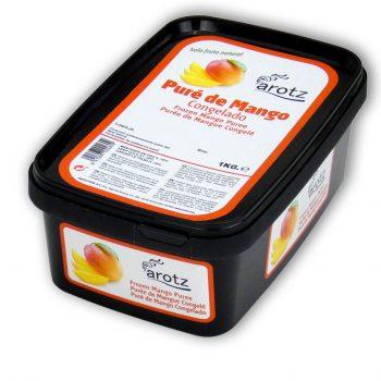 Puré de fruta congelado de mango - Arotz Food