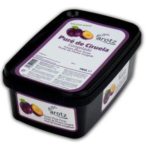 Puré de frutas congeladas - Ciruela