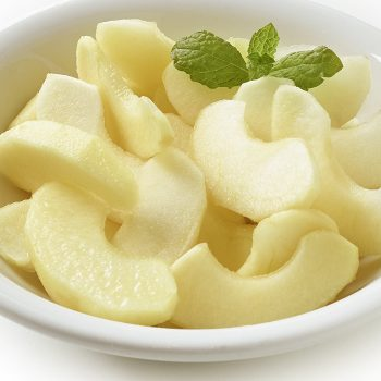 fruta ultracongelada IQF manzanas