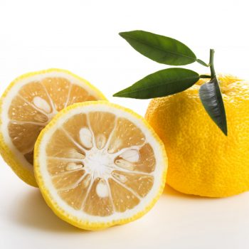 yuzu frutas